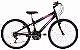 Bicicleta Status Belissima Aro 24″, 18 Marchas- Preta e Rosa - Imagem 1