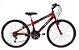 Bicicleta Status Lenda Aro 24″, 18 Marchas- Vermelha - Imagem 1