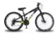 "Bicicleta Vikingx Tuff X-25 Aro 26 "", 18 Marchas –  Preta e Amarelo - Imagem 1"