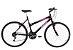 Bicicleta Status Belissima Aro 26″, 18 marchas – Preta/ Rosa - Imagem 1