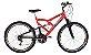Bicicleta Status Full Aro 26″, 18 Marchas - Laranja - Imagem 1