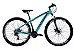 Bicicleta South Legend Aro 29″- Azul Turquesa - Imagem 1