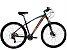 Bicicleta South New R06 29″, 21 Marchas – Preta / Laranja e Azul - Imagem 1