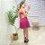 Vestido Viscose Julih Pink - Imagem 3