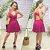 Vestido Viscose Julih Pink - Imagem 1
