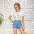 Shorts Jeans Priscila Claro - Imagem 2