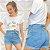 Shorts Jeans Priscila Claro - Imagem 1