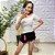 Blusa Canelada Sarah Branco - Imagem 1