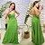 Vestido Viscose Marielle Verde - Imagem 1