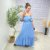 Vestido Viscose Monalisa Azul - Imagem 2
