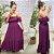 Vestido Viscose Monalisa Roxo - Imagem 1