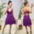 Vestido Viscose Julih Roxo - Imagem 1