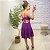 Vestido Viscose Julih Roxo - Imagem 3