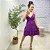 Vestido Viscose Julih Roxo - Imagem 2