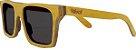 Óculos de Sol de Madeira Leaf Eco Beagle Amarelo - Imagem 1