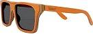 Óculos de Sol de Madeira Leaf Eco Beagle Laranja - Imagem 1