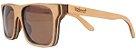 Óculos de Sol de Madeira Leaf Eco Beagle Maple - Imagem 1
