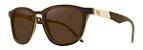 Óculos de Sol de Madeira Leaf Eco Charles Imbuia Detalhe - Imagem 1