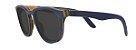 Óculos de Sol de Madeira Leaf Eco Charles Azul Escuro - Imagem 1