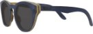 Óculos de Sol de Madeira Leaf Eco Bird Azul Escuro - Imagem 1