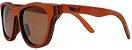 Óculos de Sol de Madeira Leaf Eco Drop Mogno - Imagem 1