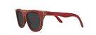 Óculos de Sol de Madeira Leaf Eco Drop Vermelho - Imagem 1