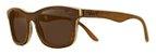 Óculos de Sol de Madeira Leaf Eco Groove Imbuia - Imagem 1