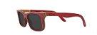 Óculos de Sol de Madeira Leaf Eco Miles Vermelho - Imagem 1