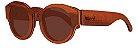 Óculos de Sol de Madeira Leaf Eco Pelican Muiracatiara - Imagem 1