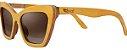Óculos de Sol de Madeira Leaf Eco Joan Amarelo - Imagem 1