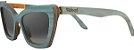 Óculos de Sol de Madeira Leaf Eco Joan Azul Claro - Imagem 1