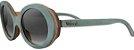 Óculos de Sol de Madeira Leaf Eco Kurt Azul Claro - Imagem 1