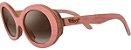 Óculos de Sol de Madeira Leaf Eco Kurt Rosa - Imagem 1