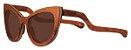 Óculos de Sol de Madeira Leaf Eco Thunder Muiracatiara - Imagem 1
