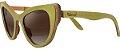 Óculos de Sol de Madeira Leaf Eco Thunder Verde - Imagem 1