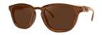 Óculos de Sol de Madeira Leaf Eco De Bubuia Imbuia - Imagem 1