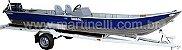 Barco de alumínio Martinelli Tornado 600 CL Comando - Casco a partir de R$ 6.510,00 - Imagem 2