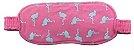 Pijama Infantil Flamingo Longo Feminino + Tapa Olho Brinde - Imagem 3