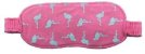 Pijama Adulto Flamingo Longo Feminino + Tapa Olho Brinde - Imagem 3