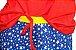 Baby Doll Infantil Curto Pijama Mulher Maravilha Feminino - Imagem 2