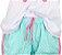 Pijama Curto Baby Doll Infantil Filha Unicórnio Raglan  - Imagem 2
