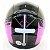 CAPACETE LS2 FF358 ULTRA BLACK PINK  - Imagem 2
