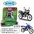 KIT TRANSMISSAO RELACAO KMC GOLD XT250 TENERE - Imagem 1