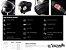 Capacete LS2 FF399 Valiant Roboto Black white chrome - Imagem 6