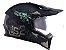Capacete LS2 MX436 Pionner Evo Fearless Matte Black grey  - Imagem 3