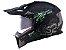 Capacete LS2 MX436 Pionner Evo Fearless Matte Black grey  - Imagem 1