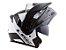 CAPACETE LS2 FF324 METRO EVO RAPID WHITE BLACK - Imagem 5