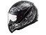 Capacete LS2 FF353 Rapid Crypt Black White - Imagem 1