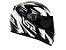 Capacete LS2 FF358 Draze Black white  - Imagem 3