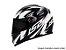 Capacete LS2 FF358 Draze Black white  - Imagem 1